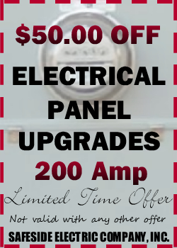 $100.00 Off Electric Panel Upgrades